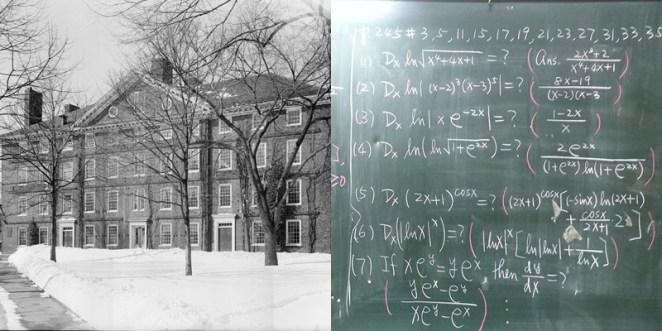 15. La universidad de Harvard fue fundada antes que se crearan los cálculos derivados.