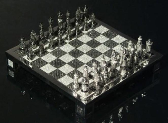 7. Juego de ajedrez de diamante