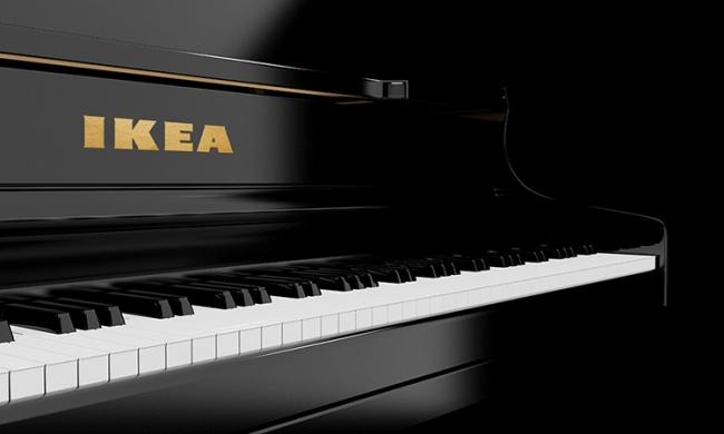 6. Piano de Ikea, las teclas las tenes que pintar vos