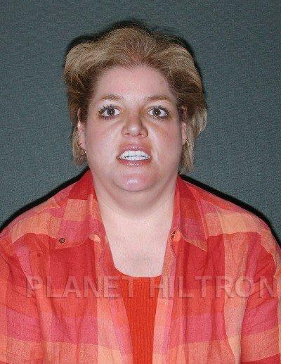 Britney Spears, camionera, sacándose una foto para encontrar novia en web de citas.