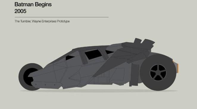 8. Batman Begins (2005) usó The Tumbler, auto de la compañía de Bruce Wayne (y bue...)