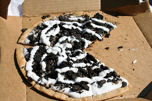 11. Pizza de Oreo