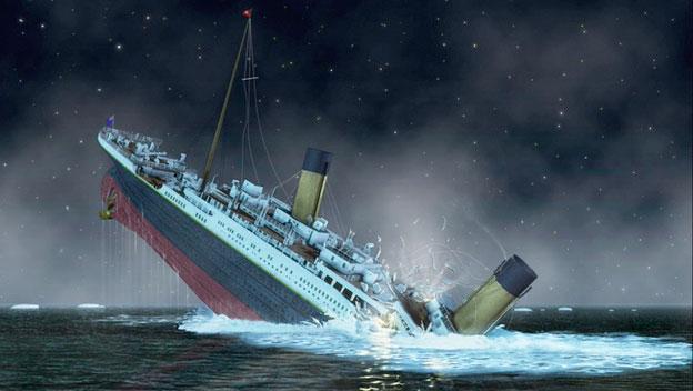 3. En el Titanic no había suficiente botes salvavidas porque lo consideraban irrompible.