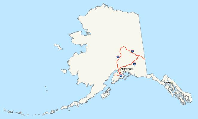 8. Rusia vendió a Alaska por 2 centavos y un acre (medida de superficie).