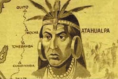 9. El jefe inca Atahualpa accedió a conocer a Fransisco Pizarro, quien mandó a 200 españoles a caballo a conquistar todo y mataron a más de 80.000 guerreros Incas.