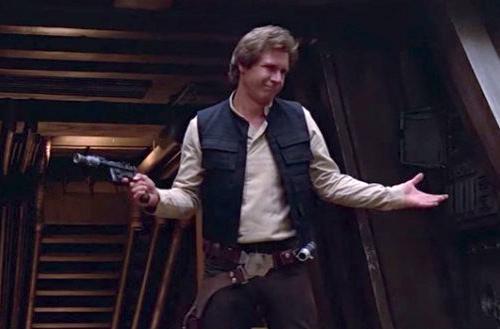 1. Soy Han Solo ¯\_(ツ)_/¯