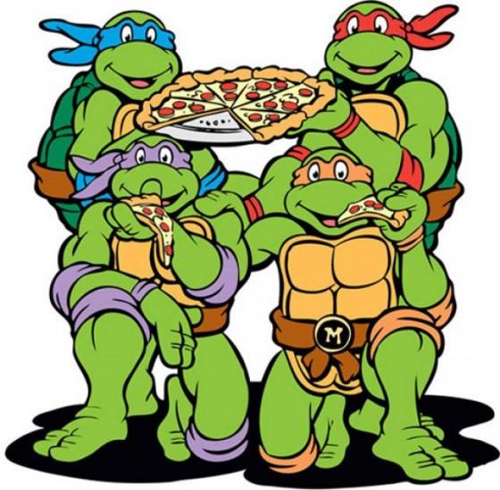 9. Pero a vos, las únicas tortugas que te importaban eran estas: