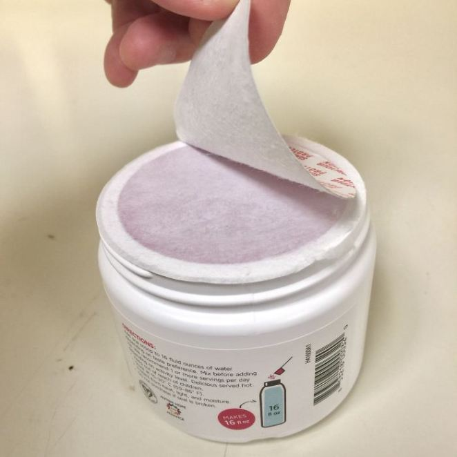 The Peel-Open Seal. Every. Single. Time