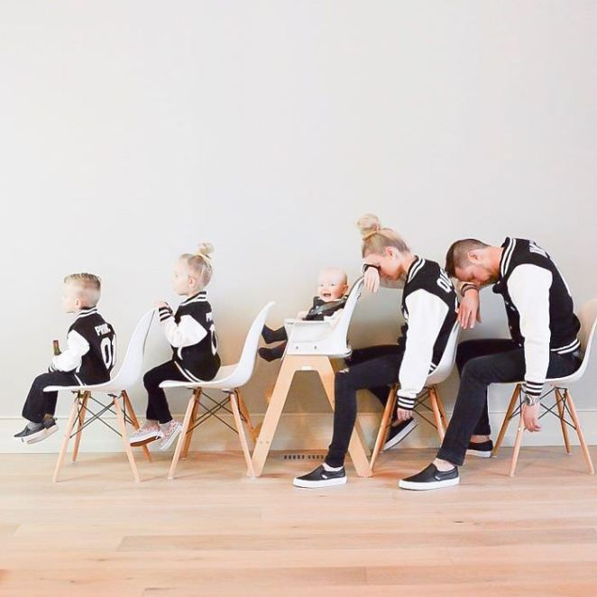 Creative fun family photography