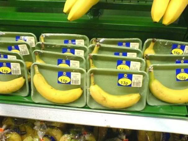 If Only Bananas Had Robust, Natural, Bio-Degradable Packaging Of Their Own. Some Sort Of Peelable Skin, Perhaps