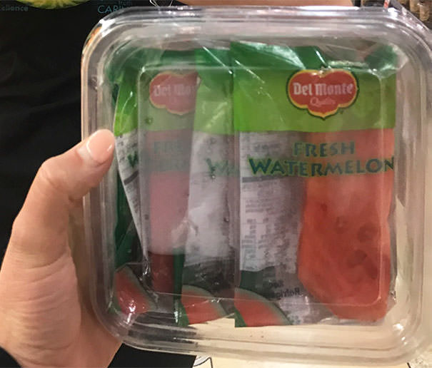 These Individually Wrapped 3-Inch Slices Of Watermelon