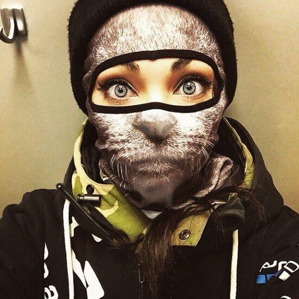 Cat Ski Mask