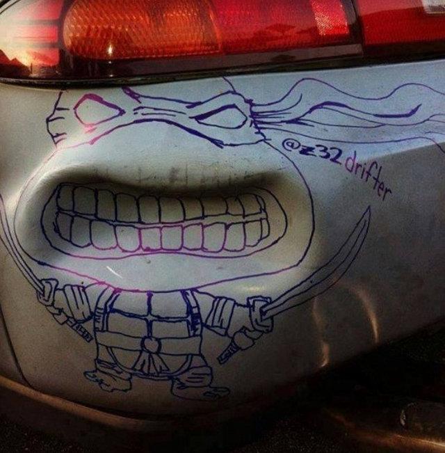 3. Que te choquen el auto.