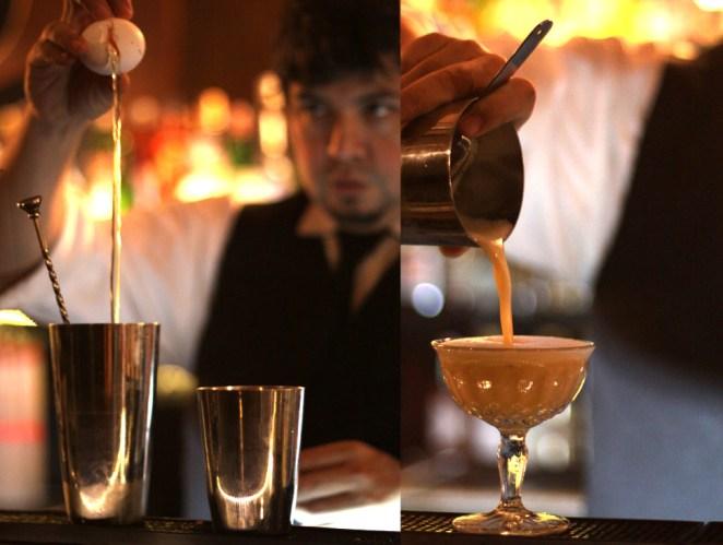 5. Un trago virgen, sin alcohol, para los que están tomando antibióticos. ¿La sorpresa? Una clara de huevo que lo hace bien espumoso.