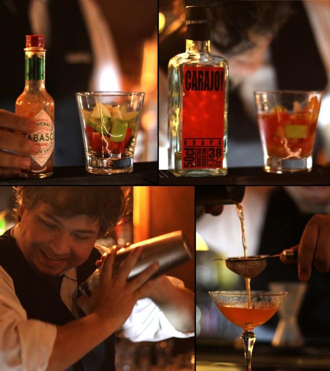 8. ¿Sos audaz? Un martini con morrón, manzana y tabasco puede sonar muuuy polémico, la clave es dejarse llevar por el golpe picante.
