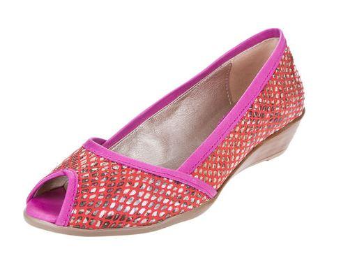 O estas hermosas Balerinas Rojas Inkas Boca de Pez Reptilada para andar, saltar y bailar, a 9