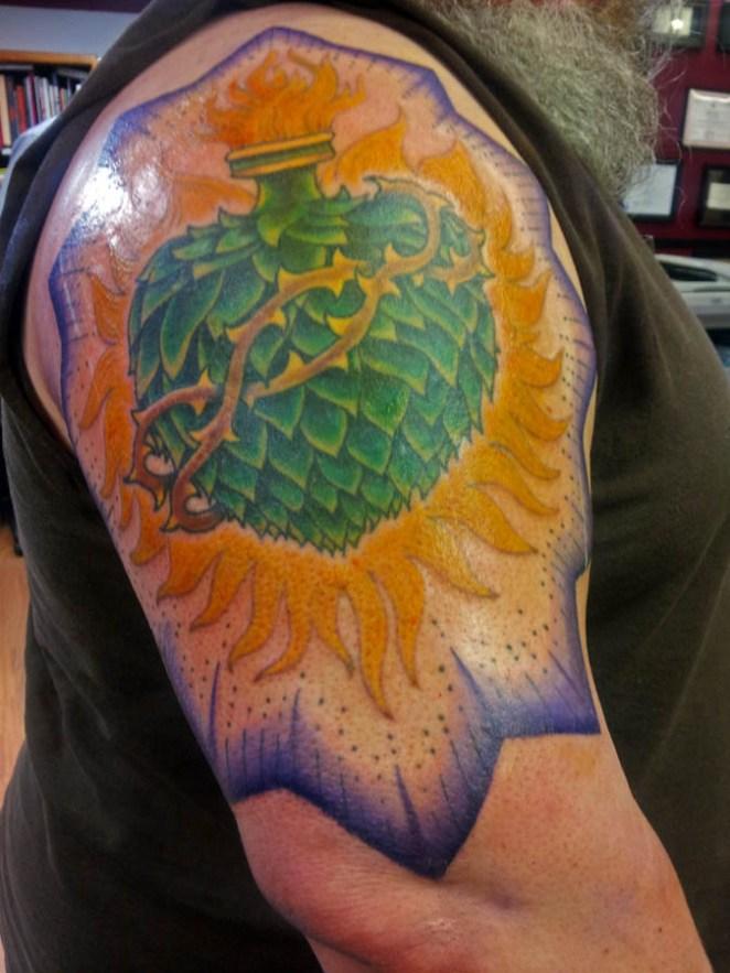 17. La alcachofa sagrada