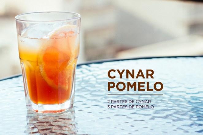 2. Cynar pomelo, el emblemático para preparar en casa, también funciona con gaseosa