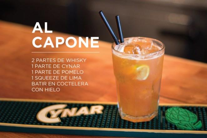 5. Lejos de la Ley Seca, la base de whisky del Al Capone se vuelve muy refrescante con la lima y el pomelo
