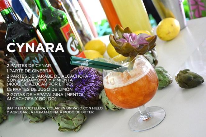 21. Cayetana Vidal creó el Cynara, pura alcachofa para MAPA2014