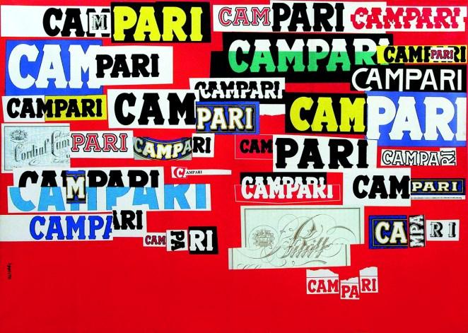 7. Una obra sobre Campari está exhibida en el MoMa de Nueva York