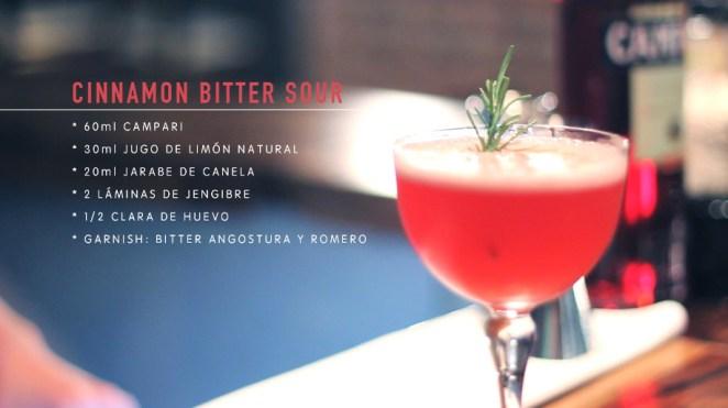 Elegante y prolijo, el Cinnamon Bitter Sour refleja la personalidad de Seba.