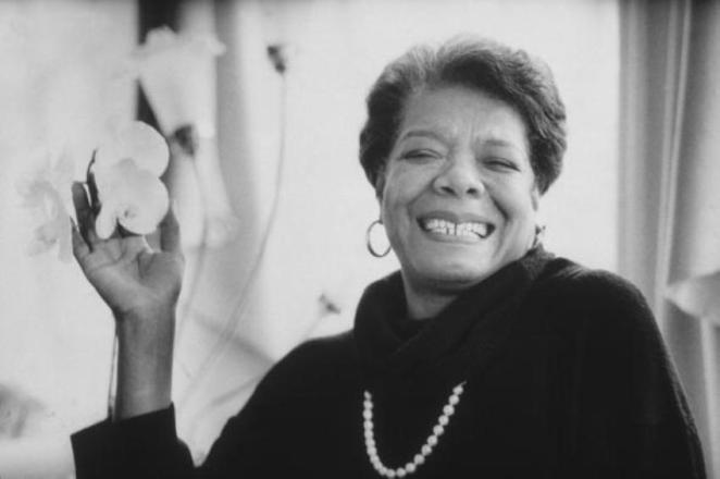 1. Maya Angelou