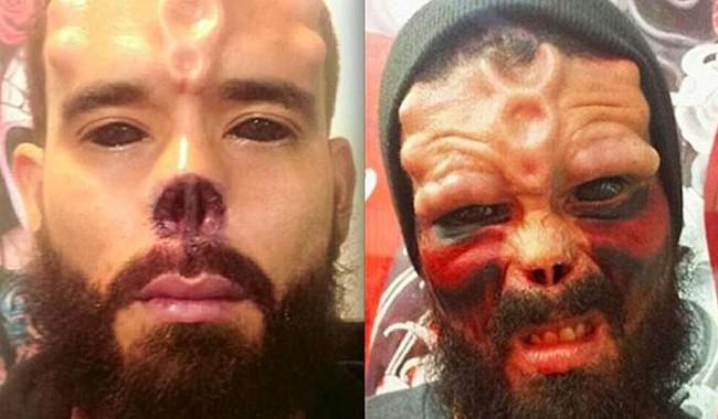 Resultado de imagen para henry damon red skull instagram