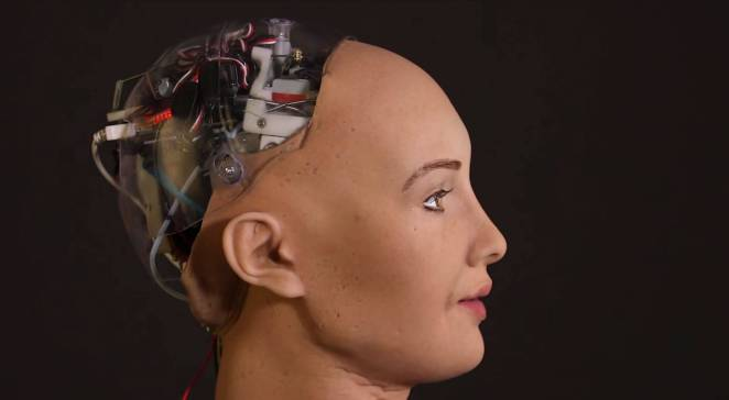 Resultado de imagen para sophia humanoid