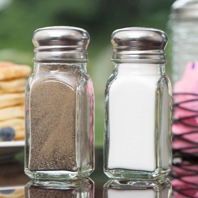 Resultado de imagen para salt and pepper