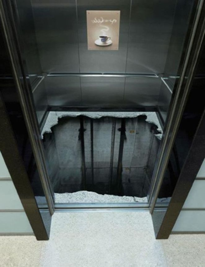 Elevator Floor Painting