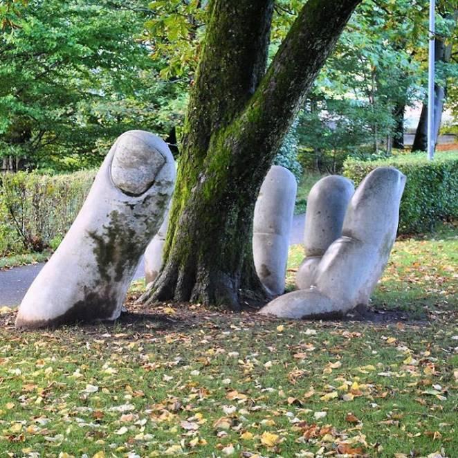 Nature street art