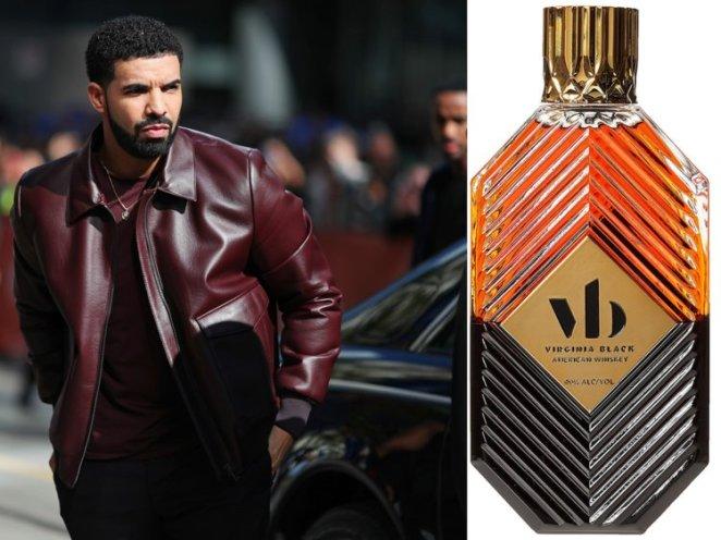 7. Drake, Virginia Black Whiskey — £34.89 (.95).