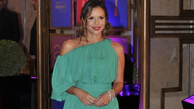 A favor de la despenalización del aborto. Julieta Ortega, de verde furioso. (Maxi Failla).