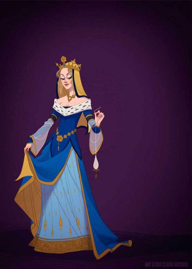 Princesas-de-Disney-vestidas-de-acuerdo-a-su-época-4