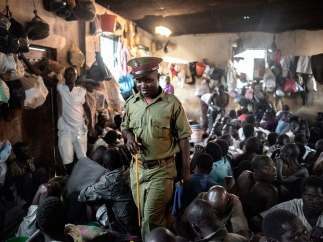 The Maula prison in Lilongwe, Malawi, is severely overcrowded — in 2015, almost 200 people were crammed into one 60-person cell. Prisoners there, many of whom are Ethiopian migrants, share one toilet among 120 people and one tap to 900 people.