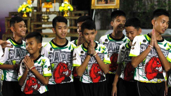 Resultado de imagen para thai rescued kids