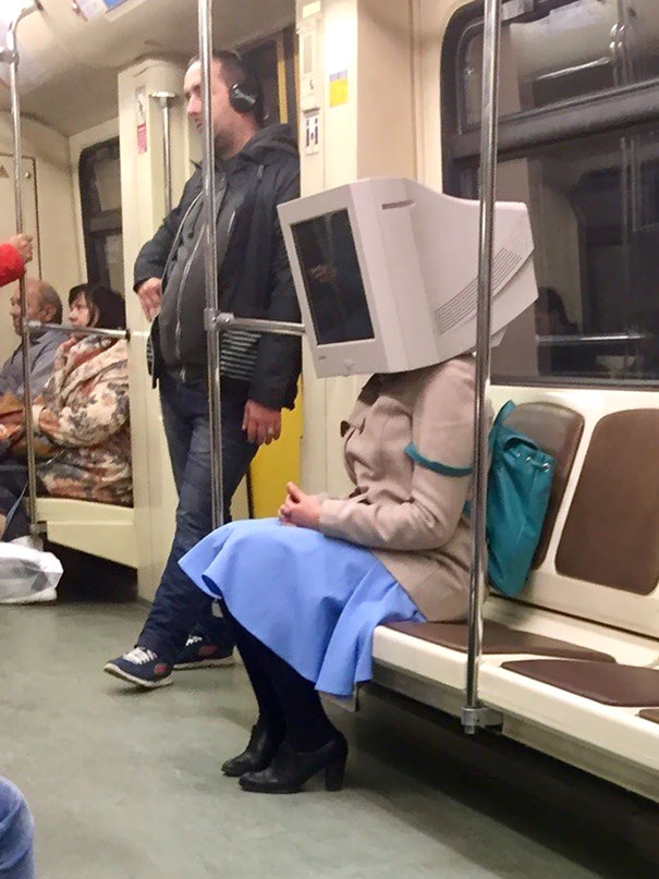 About Damn Time Karen Got Out Of Her Abusive, One-Way Relationship With Plankton. Spotted In Moscow