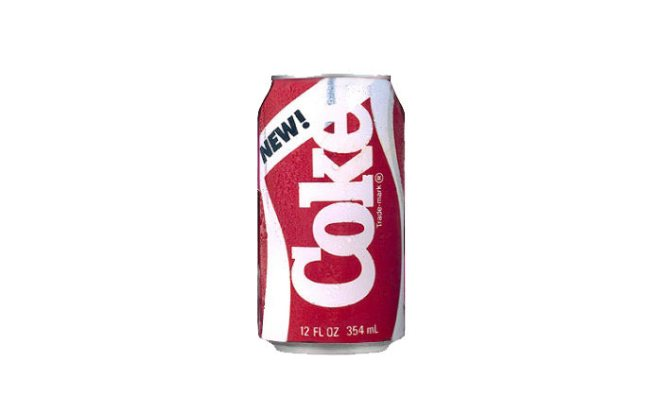 New Coke, Coca-Cola Co, 1985