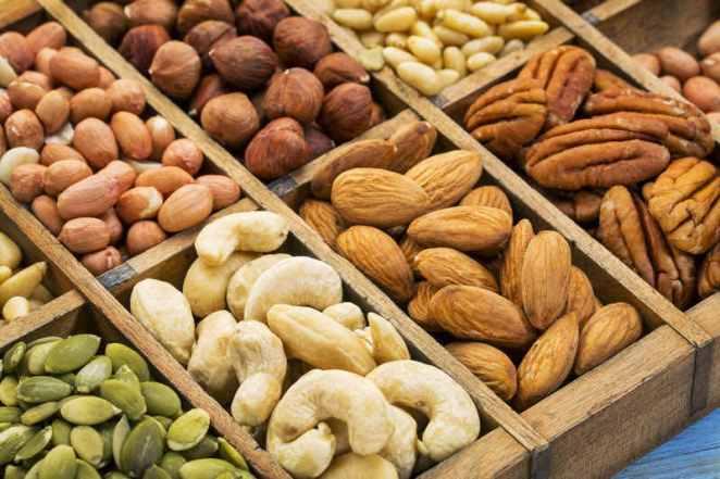 Resultado de imagen para frutos secos para ensaladas
