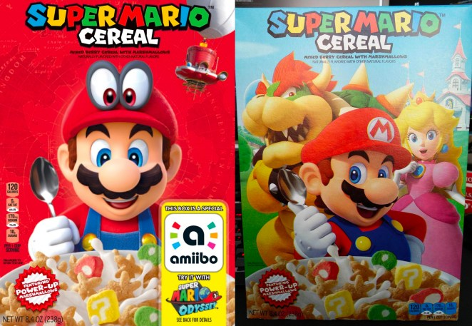 Resultado de imagen para super mario cereal