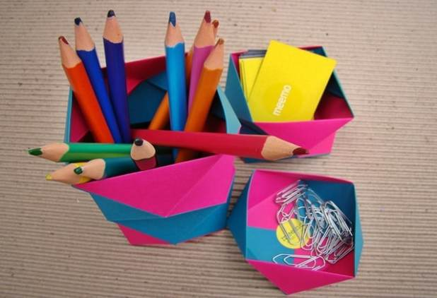 kit-office-origami-papel-pink-e-azul