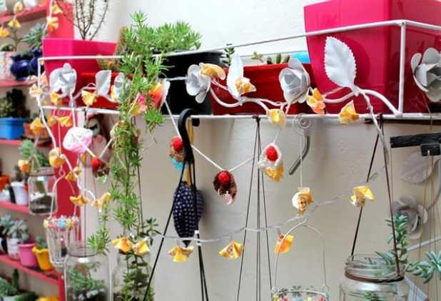 Ideias com pisca pisca para decorar