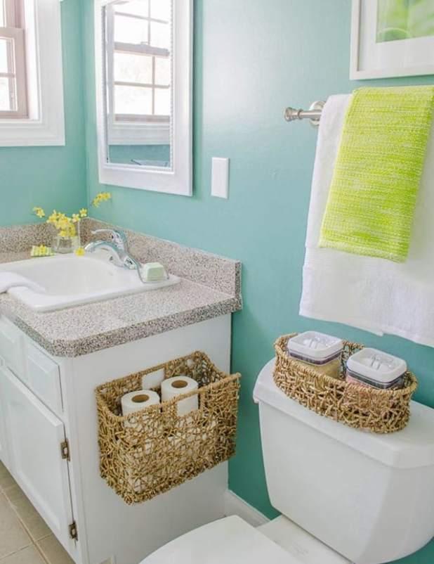 banheiro organizacao
