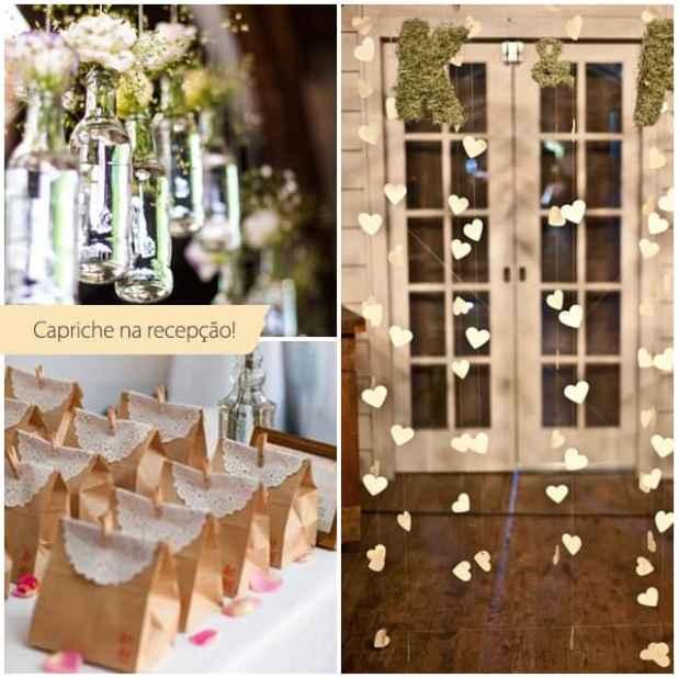 Ideias para recepção de casamento civil