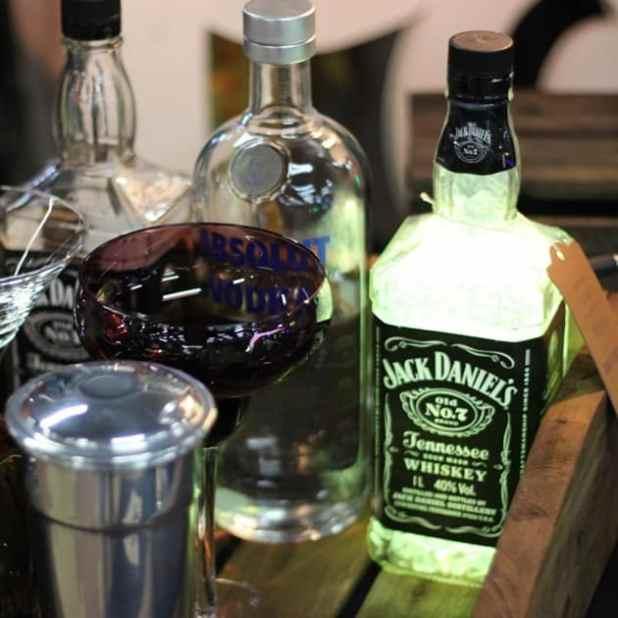PAP luminaria garrafa titulo