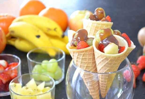 sorvete na casquinha xx