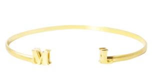 bracelete com iniciais