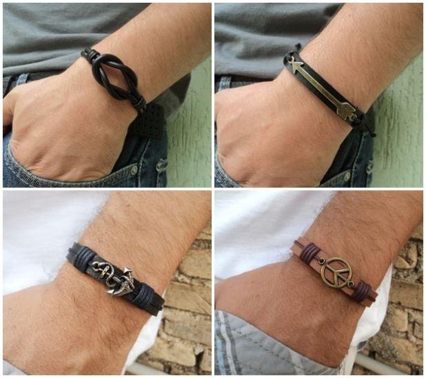 pulseiras masculinas -