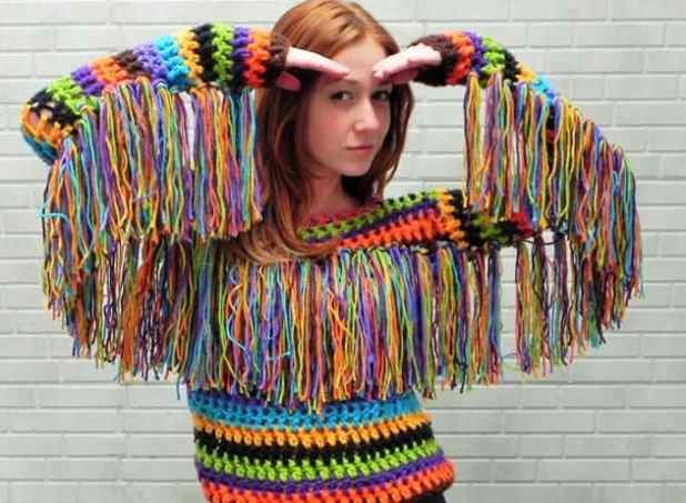 trico e croche na moda